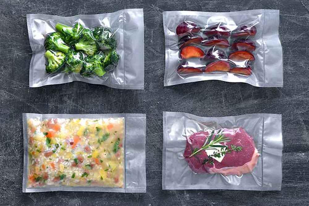 Emballage sous vide de plats cuisinés