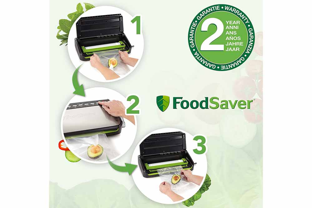 Comment utiliser la machine sous vide Foodsaver FFS005X